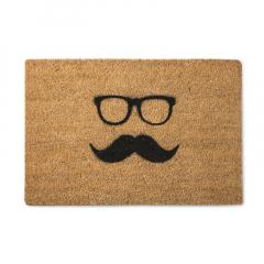 英国原产Artsy家居地垫防滑地垫脚垫胡子和眼镜图案