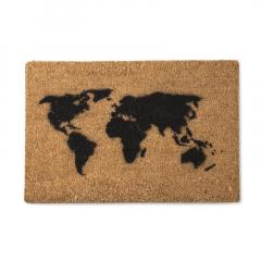 英国原产Artsy家居地垫防滑地垫脚垫世界地图图案