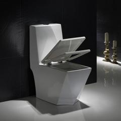 纳蒂兰卡 1082卫浴洁具 钻石切边 坐便器 虹吸式抽水马桶 座便器 白色 400mm