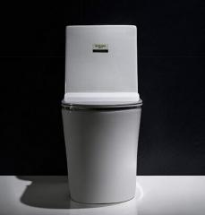纳蒂兰卡座便器马桶1805漩冲虹吸式家用连体坐便器防臭防溅座便器智洁釉 白色 400mm