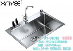 心意  加厚耐用不锈钢水槽 洗菜手工盆91018