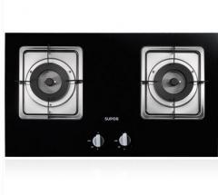 SUPOR/苏泊尔家用厨房电器 QB809燃气灶大面板双灶大尺寸嵌入式天然气煤气台式灶具 天燃气