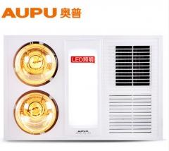 AUPU/奥普浴霸 集成吊顶风暖灯暖LED照明嵌入式多功能五合一HDP5121AL