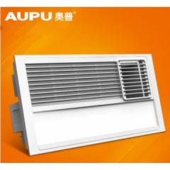 AUPU/奥普浴霸 QDP6022A风暖三合一超薄浴霸 集成吊顶 风暖浴霸 自带LED