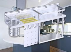 XNYEE/ 心意  XY-86305 厨房置物架 壁挂墙上刀架调味收纳架厨房挂件挂架挂杆