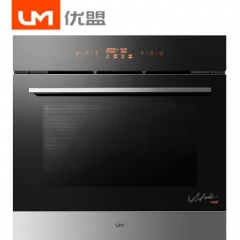 UM/优盟UK02 家用嵌入式电烤箱60L电烤炉上下独立控温60L大容量多功能烧烤机