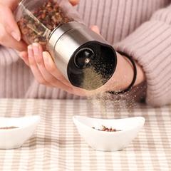 艾美诺(AMINNO)手动胡椒研磨器黑胡椒花椒胡椒粉研磨器调味瓶罐调料盒厨房用品 波特研磨器