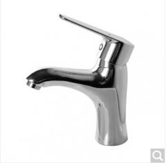 九牧(JOMOO) 卫浴面盆精铜冷热单把单孔洗手水龙头32150 32150-126