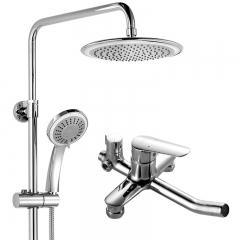 华艺 KX239015C 一体铸造淋浴器