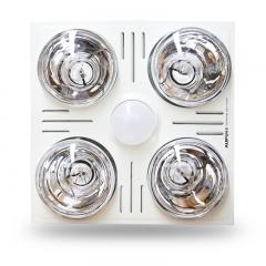 奥普(AUPU)浴霸 FDP5010SL 集成吊顶浴霸 嵌入式多功能灯暖浴霸 白色