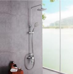 JOMOO九牧 卫浴花洒 空气能淋浴器花洒套装大蓬头可升降 36182