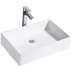纳蒂兰卡378浴室洗面盆洗手洗漱盆卫浴洗脸台上盆陶瓷方形艺术盆 378艺术盆不带龙头