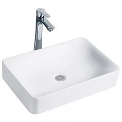纳蒂兰卡新款318普通陶瓷洗脸盆卫生间洗漱盆洗面洗手卫浴台上盆 318艺术盆不带龙头