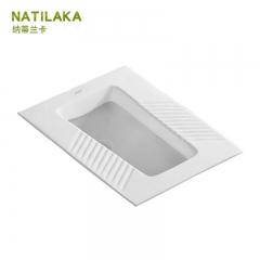 纳蒂兰卡 503 陶瓷蹲坑防臭器家用蹲便器 不带存水弯305mm