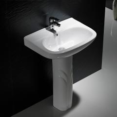 纳蒂兰卡卫生间 608 立柱盆 落地式洗漱盆 不带龙头