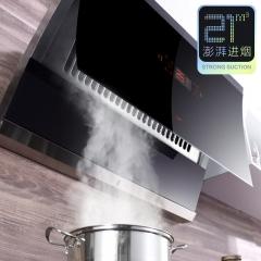 优盟(UM)UC168 侧吸抽油烟机单机自动清洗脱排抽烟机