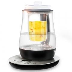 美的 GE1512a 多功能加厚玻璃煮茶器电水壶