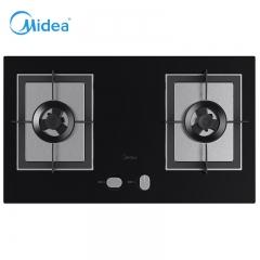美的(Midea)Q66 5.0KW大火力 大面板台嵌两用燃气灶 液化气
