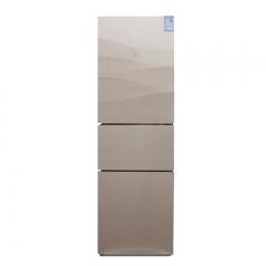 美的(Midea) BCD-217WTGM冷藏冷冻风霜小型家用节能三门电冰箱