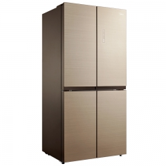 美的(Midea) BCD-456WGM凯撒金 十字对开门冰箱 风冷无霜