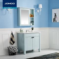 九牧卫浴洗手盆柜洗脸盆柜组合浴室柜组合卫生间脸盆柜组合A1227 A1227简美田园风
