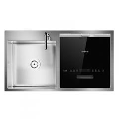 德意 DC5635 洗碗机 水槽在左