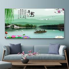 多朗碳晶墙暖壁画 DL-8B 江南唐韵