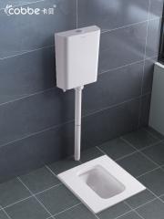 卡贝蹲便器蹲坑式家用马桶水箱套装便池卫生间厕所防臭大便盆蹲厕 DB5002S