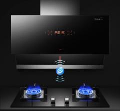 um/优盟 UC263S+UZ218A自动清洗智能联动烟灶套装 天然气