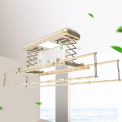 九牧电动晾衣架自动升降家用晒衣架智能遥控晾衣机 LA309