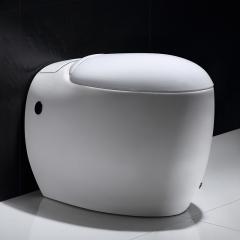 纳蒂兰卡N9003无水箱马桶北欧创意鹅蛋型坐便器大气个性座便器 300mm