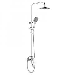 惠达 5010  卫浴淋浴器淋雨喷头洗澡沐浴家用卫生间浴室花洒套装 5010 不带托盘