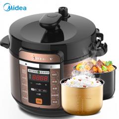 美的(Midea)电压力锅家用电压力煲智能电高压锅MY-CS5018P
