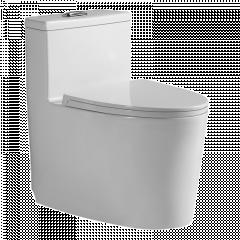 纳蒂兰卡 1852 新款马桶全封底家用大冲力坐厕卫生间虹吸式座便器 305mm