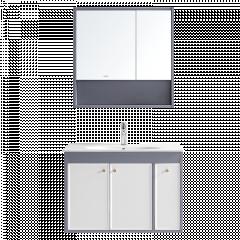 惠达卫浴 8501 新品卫生间洗漱台现代简约浴室柜镜柜