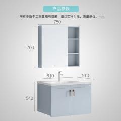 惠达卫浴 1566  新品浴室柜龙头洗脸盆柜组合卫生间洗漱台pvc浴室柜