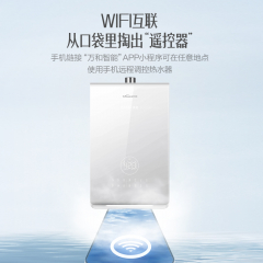 """万和 17L 智能净水循环增压零冷水""""颁芙""""SA5(晨曦白,天然气)"""