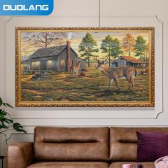 多朗 DL-1600 碳晶墙暖壁画 1600W 麋鹿