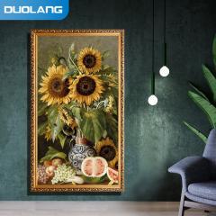 多朗 DL-1200 碳晶墙暖壁画  人物1200W 向日葵