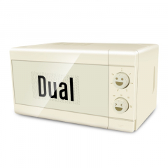 Dual 料理微波炉 DIK42