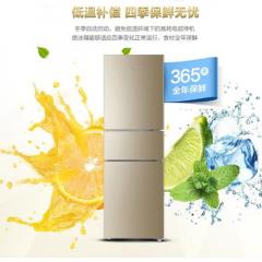 海尔(Haier)216升三门超薄小型风冷无霜冰箱 家用电冰箱BCD-216WMPT